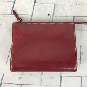 Kate Spade Vtg Leather Clutch Pouch